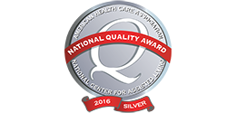 AHCA 2016 National Quality Silver Award
